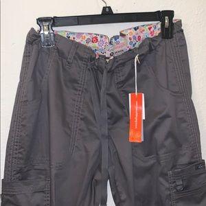koi Other - Koi Scrubs Top & Bottoms - Dark Gray